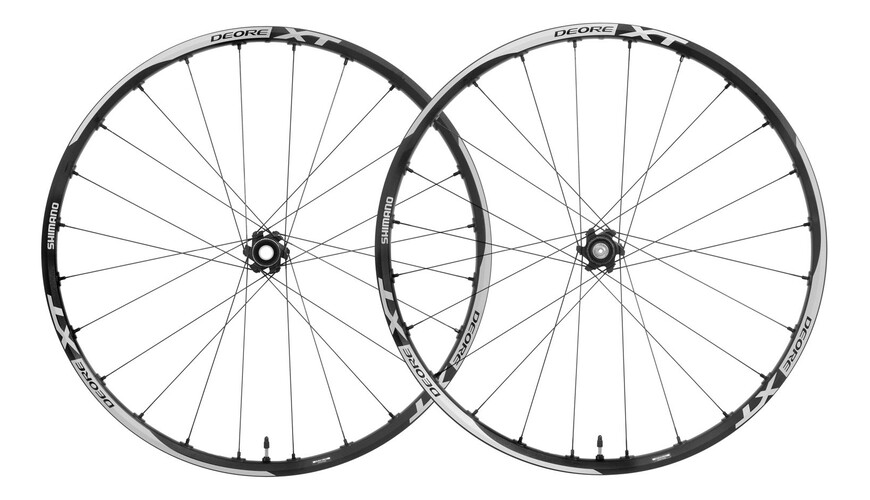 "Shimano Deore XT WH-M785 - Roue - Disc 29"" Center Lock 15mm/QR noir"